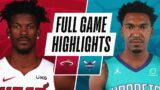 HEAT at HORNETS | FULL GAME HIGHLIGHTS | March 26, 2021