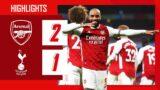 HIGHLIGHTS   Arsenal vs Tottenham Hotspur (2-1)   Premier League   Odegaard, Lacazette