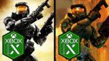 Halo 2 Xbox Series X Anniversary vs Classic Comparison