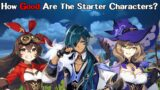 How Good Are the Starter Characters In Genshin Impact?