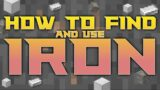 How to find and use iron FAST   Minecraft Tutorials   Series X/S   Xbox One   PlayStation 4/5   PC
