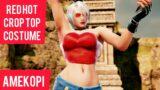 IVY Customization Red Hot Crop Top Costume Showcase   SOULCALIBUR 6