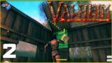 Initial Base   Valheim Gameplay   E02
