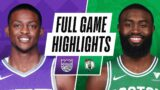 KINGS at CELTICS   FULL GAME HIGHLIGHTS   March 19, 2021