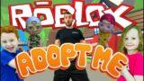Kids Workout! ROBLOX! ADOPT ME GYM CLASS! Real-Life VIDEO GAME! Kids Workout Videos, DANCE, PE FUN!