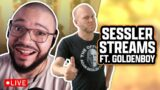 "LIVE! Adam Sessler talks games, news, and Esports w/Alex ""Goldenboy"" Mendez!"