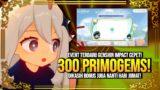 Lagi Lagi! 300 + 60 Primogems Event Reward! Modal SS – Genshin Impact : Indonesia