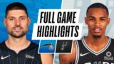 MAGIC at SPURS   FULL GAME HIGHLIGHTS   March 12, 2021