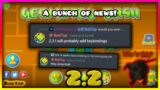 Many game Optimization's & upcoming keybinds   Geometry Dash 2.2 Release News