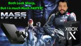 Mass Effect Xbox Series X Vs Xbox One X Performance Graphics Analysis Comparison
