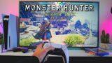 Monster Hunter World -PS5 POV Gameplay Test, Backwards Compatibility