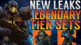 NEW OUTRIDERS LEGENDARY TIER SETS LEAK! Marshal's Devastator Armor Set! NEW LEAKS!   Outriders!