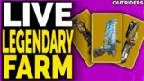 NEW Outriders FARMING LEGENDARY WEAPONS, End Game Builds