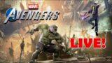 New Maestro Villan Sectors & Hank Pym Artifact Live! Marvel's Avengers PS5 LIVE