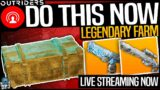 OUTRIDERS FARM THIS WHILE YOU CAN – LEGENDARY LOOT CHEST LAST CHANCE – Live Stream Full Highlights