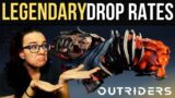OUTRIDERS LEGENDARY DROP RATE POST PATCH! WHAT'S THE BEST FARM?