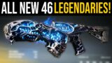 Outriders ALL 46 NEW LEGENDARY WEAPONS – Outriders Full Early Access