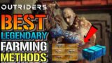 Outriders: BEST Legendary FARMING Guide | How To FARM (Gauss, The Captain, 3 Chest & 5 Chest)