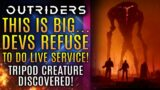 Outriders – BIG NEWS!  Dev Refuses Live Service Nonsense!  Tripod Creature Spotted! New Updates!