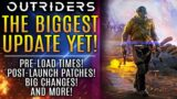 Outriders – BIGGEST News Update Yet! Pre-Load Times, Post Launch Patches, New Gameplay Changes!
