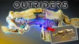 Outriders Demo | Thunderbird Legendary Assault Rifle Review – IT'S RAINING THUNDER !!!