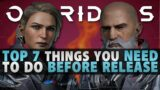 Outriders Demo – Top 7 Things you Need To Do Before Release (Demo)