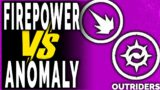 Outriders FIREPOWER vs ANOMALY POWER – WHICH ONE IS BETTER