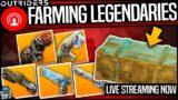 Outriders – Farming Legendary Weapons – Best Legendary Farm – Live Stream Hightlights