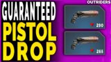 Outriders GUARANTEED PISTOL REVOLVER DROP – How to GET A HIGHER LEVEL PISTOL SIDEARM