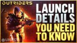 Outriders Launch Plan Revealed   Launch Times, Legendaries Restored, Cheaters Branded, & More