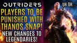 Outriders – Players Will Be Punished With Thanos Snap Reset!  New Boss and Legendary Weapon Updates!