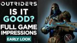 Outriders Review Impressions: Is it worth it? Early Access Gameplay