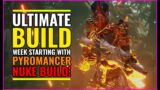 Outriders   Ultimate Build Week! Pyromancer Fire Witch Set! Nuke EVERYTHING!