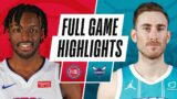 PISTONS at HORNETS | FULL GAME HIGHLIGHTS | March 11, 2021