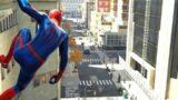 PS5 PETER PARKOUR (4K 60FPS) | SPIDER-MAN REMASTERED