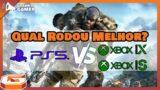 PS5 VS Xbox Series X VS Series S | DESEMPENHO EM GHOST RECON BREAKPOINT | Um rodou em 1440p
