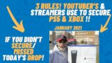 PS5 XBOX 3 RULES TO SECURE ONLINE! ( ALL YOUTUBER'S USE THESE RULES)