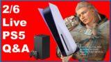 PS5 XSX DROPS Q&A, 2/6, Sony PlayStation 5, Assassin's Creed Valhalla, #ps5