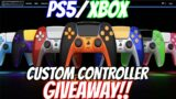 PS5 & XBOX SERIES X COLORWARE CONTROLLER GIVEAWAY!!