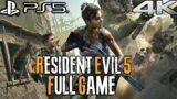 RESIDENT EVIL 5 PS5 Gameplay Walkthrough FULL GAME (4K 60FPS)