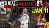 Red Dead Online – PS5 – Daily Challenges January 11 Live – RDR2 Online