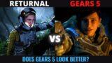 Returnal Story trailer vs Gears 5 2018 trailer | PS5 Xbox Series X