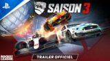 Rocket League | Bande-annonce de la Saison 3 | PS5, PS4
