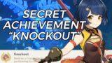 "SECRET ACHIEVEMENT – ""KNOCKOUT""    FREE PRIMOGEMS    GENSHIN IMPACT ITA"