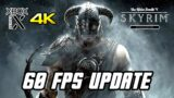 SKYRIM: SPECIAL EDITION Gameplay – 60 FPS Boost Update (Xbox Series X, 4K)