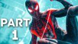 SPIDER-MAN MILES MORALES PS5 Gameplay Walkthrough Part 1 – INTRO [1080P 60FPS] (PLAYSTATION 5)