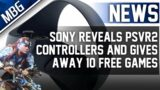 Sony Reveals PSVR 2 PS5 Controllers, Gives Away 10 Free PlayStation Games, SPMM Hits No.1