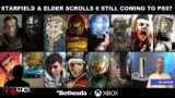 """Starfield & Elder Scrolls 6 PS5 Highly Likely; Xbox Boss Phil Spencer """"Details"""" Bethesda Exclusives!"""