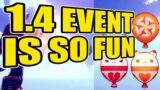 THE NEW 1.4 EVENTS ARE ACTUALLY FUN | 1.4 Windblume Event | Genshin Impact
