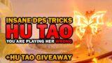 TIPS & TRICKS TO BOOST HU TAO DPS   GENSHIN IMPACT HU TAO GUIDE